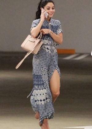 Vanessa Hudgens - Arrives at Medical Building in LA