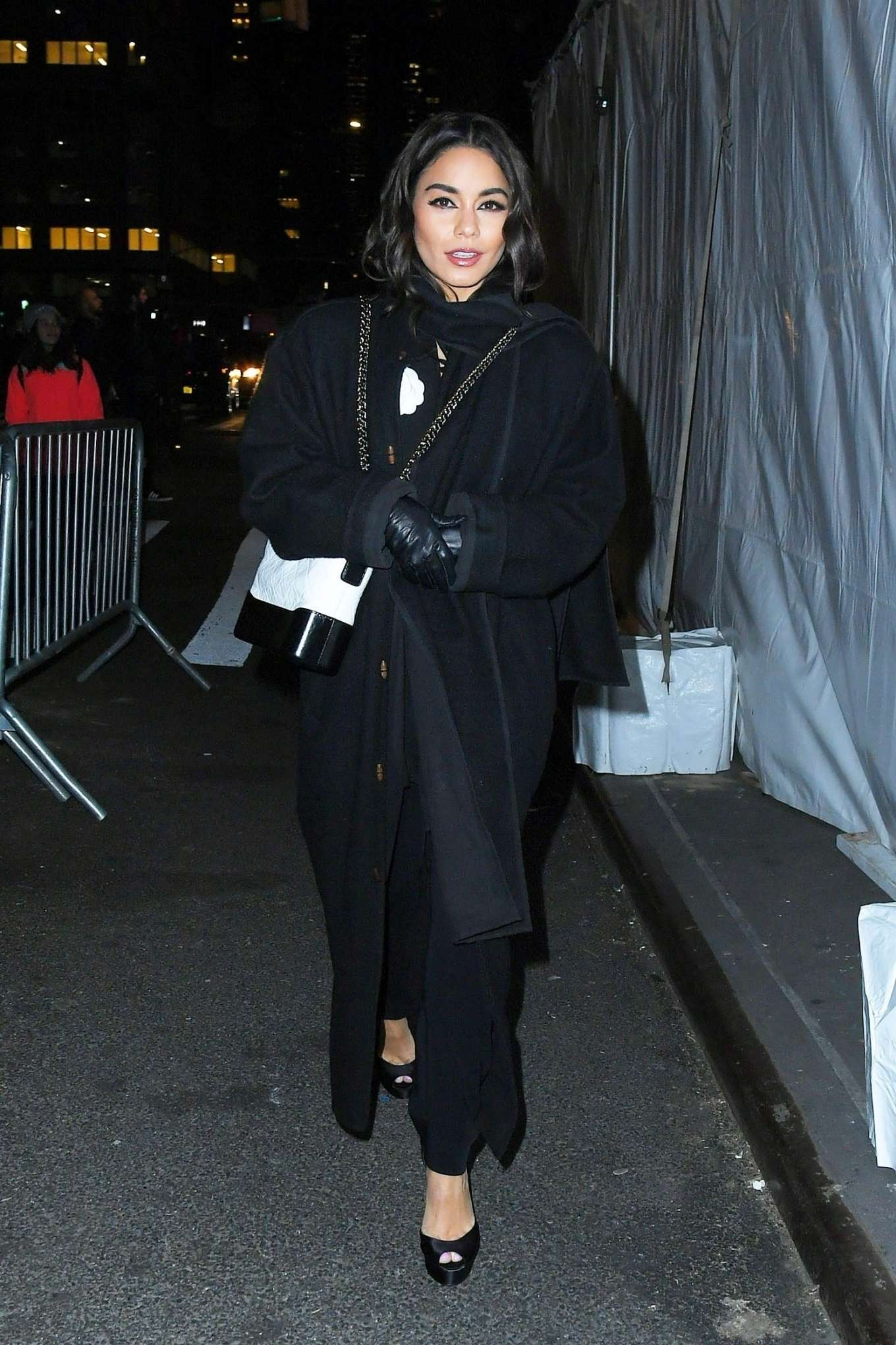 Vanessa Hudgens - arrives at the Westside Story Broadway opening in New York