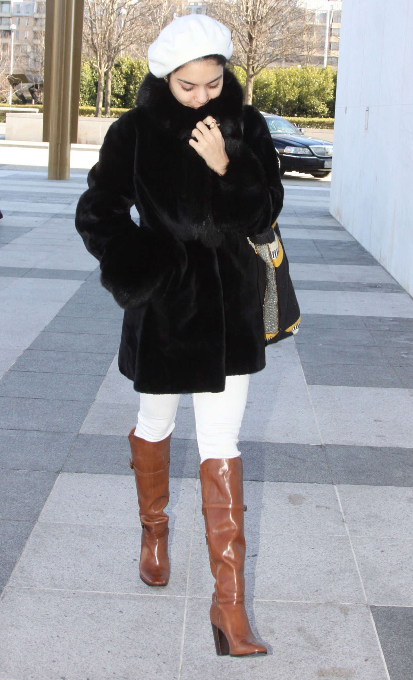 "Vanessa Hudgens - Arriving for her play ""Gigi"" in Washington"