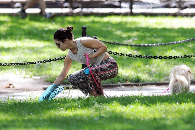 Vanessa Hudgens at Dog park -15
