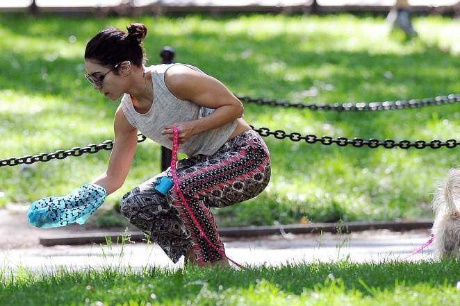 Vanessa Hudgens at Dog park -27