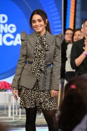 Vanessa Hudgens at Good Morning America in New York