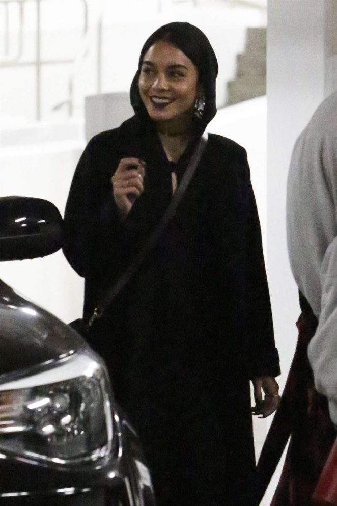 Vanessa Hudgens at the Arclight Theater in Hollywood