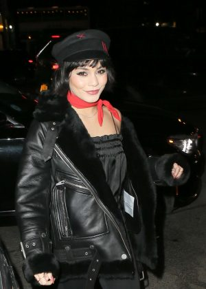 Vanessa Hudgens at the Bowery Hotel in New York