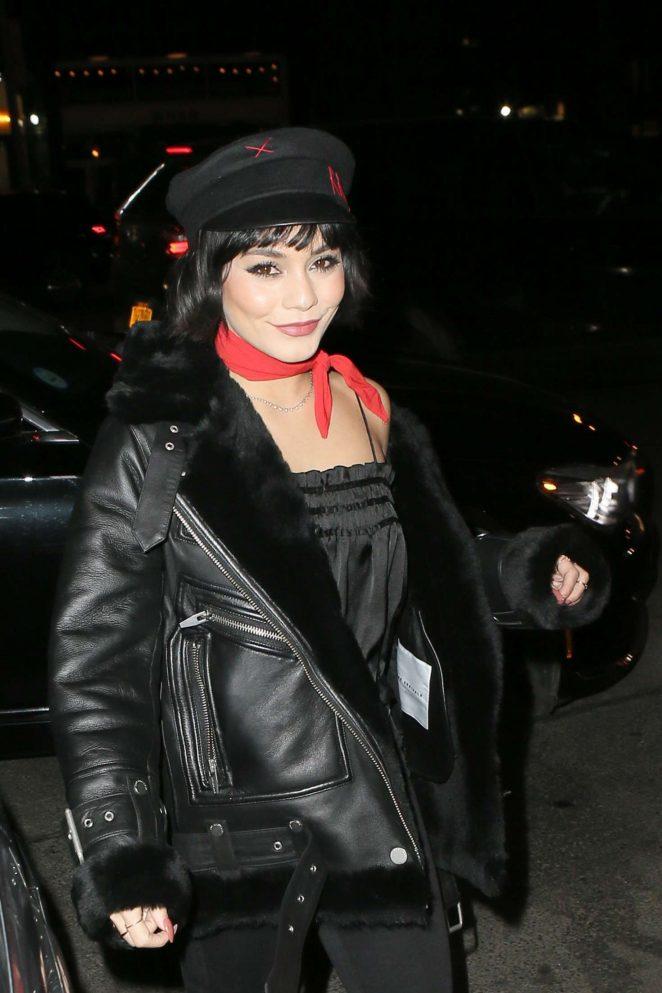 Vanessa Hudgens at the Bowery Hotel in New York