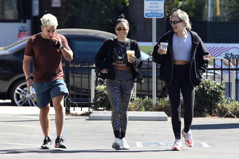 Vanessa Hudgens 2021 : Vanessa Hudgens – at the Dogpound gym in West Hollywood-07