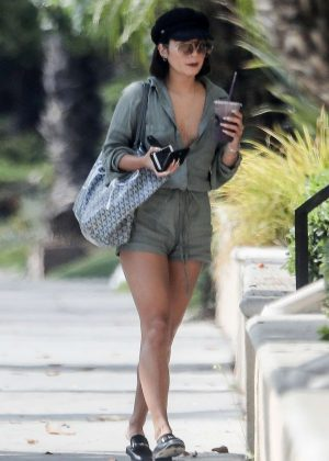 Vanessa Hudgens at the Spa in Beverly Hills