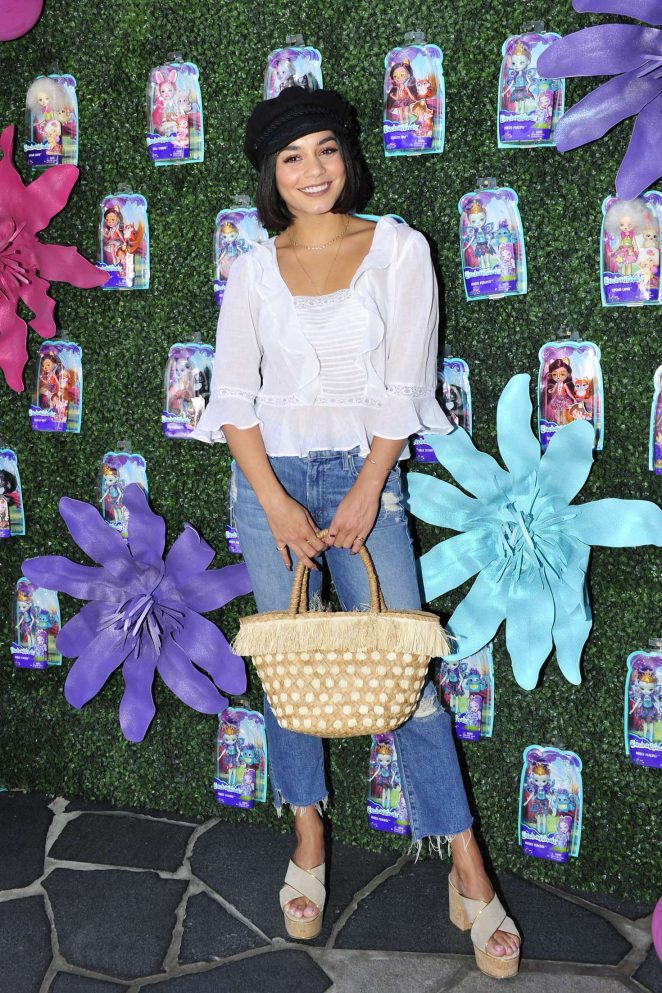Vanessa Hudgens - Attends Mattel Launch Event for Their New Animal Inspired Brand ENCHANTIMALS in LA