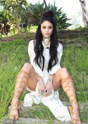 Vanessa Hudgens - Beauty Coach Photoshoot (August 2015)