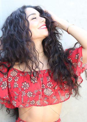 Vanessa Hudgens Beauty Coach Photoshoot June 2016