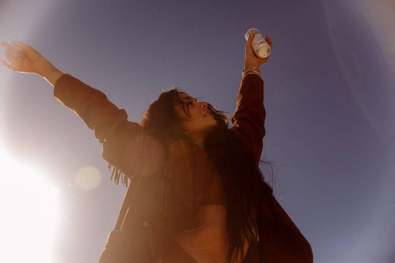 Vanessa Hudgens 2021 : Vanessa Hudgens – Caliwater cactus water (2021)-05