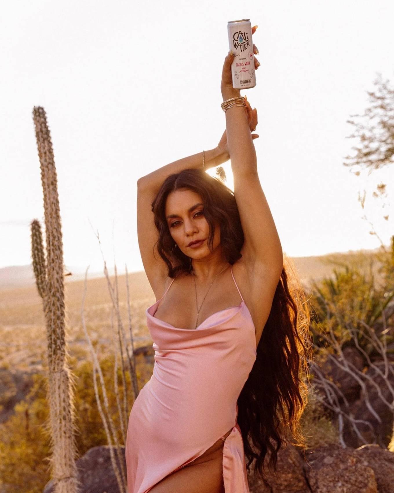 Vanessa Hudgens 2021 : Vanessa Hudgens – Caliwater cactus water (2021)-08