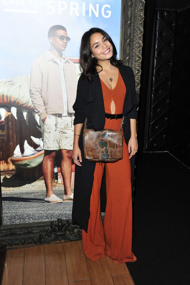 Vanessa Hudgens – Call It Spring Hosts Private Event at Selena Gomez Concert in Los Angeles