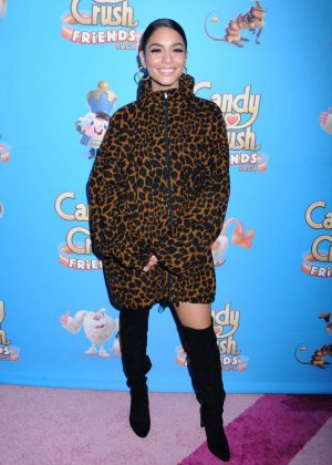 Vanessa Hudgens - Candy Crush Friends Live Launch in New York
