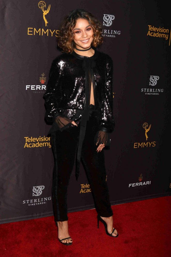 Vanessa Hudgens - Casting & Music Nominee Receptions by the Television Academy in LA