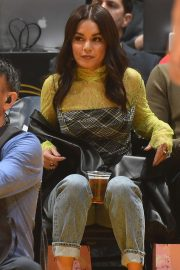 Vanessa Hudgens - Cleveland Cavaliers vs Los Angeles Lakers at Staples Center in LA