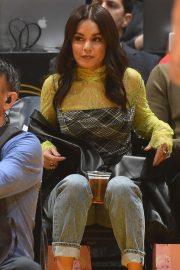 Vanessa Hudgens - Cleveland Cavaliers vs Los Angeles Lakers at Staples Center in LA