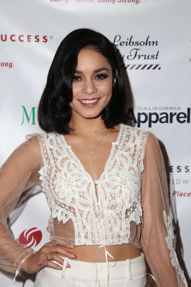 Vanessa Hudgens - 'Dress for Success, Shop for Success' VIP Shopping Event in Beverly Hills
