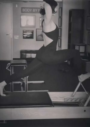 Vanessa Hudgens Exercising