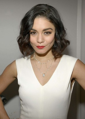 Vanessa Hudgens Fashion at CBS Studios in New York