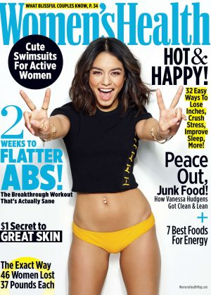 Vanessa Hudgens for Women's Health (May 2017)