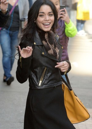 Vanessa Hudgens - 'Good Morning America' in NYC