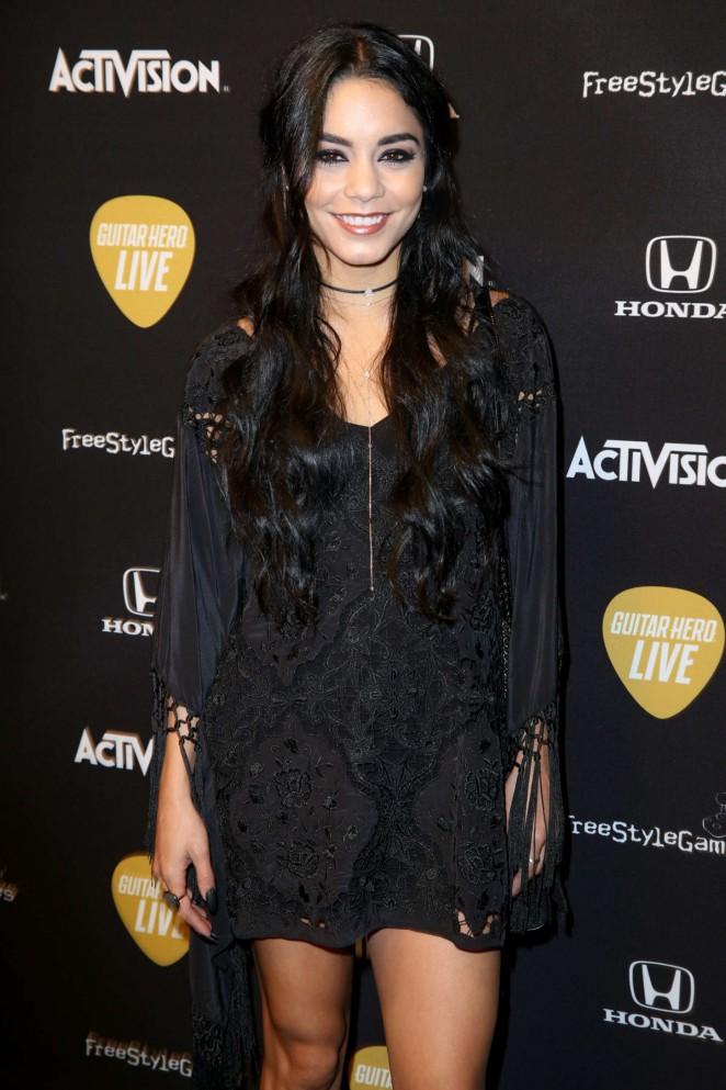 Vanessa Hudgens – Guitar Hero Live Launch Party in LA