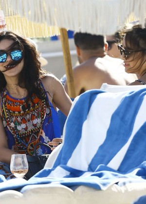 Vanessa Hudgens in Blue Swimsuit 2016 -73