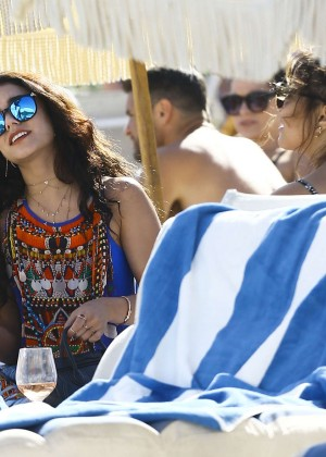 Vanessa Hudgens in Blue Swimsuit 2016 -96
