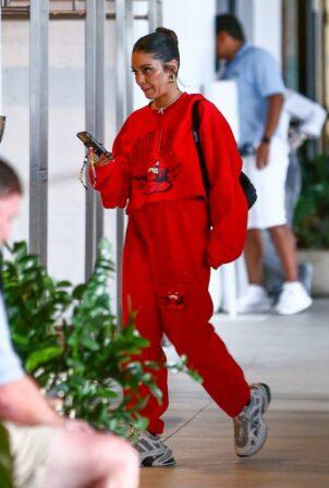 Vanessa Hudgens - In red in Miami