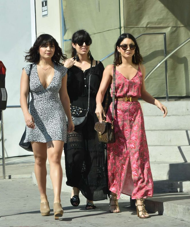 vanessa hudgens in summer dress 14 gotceleb