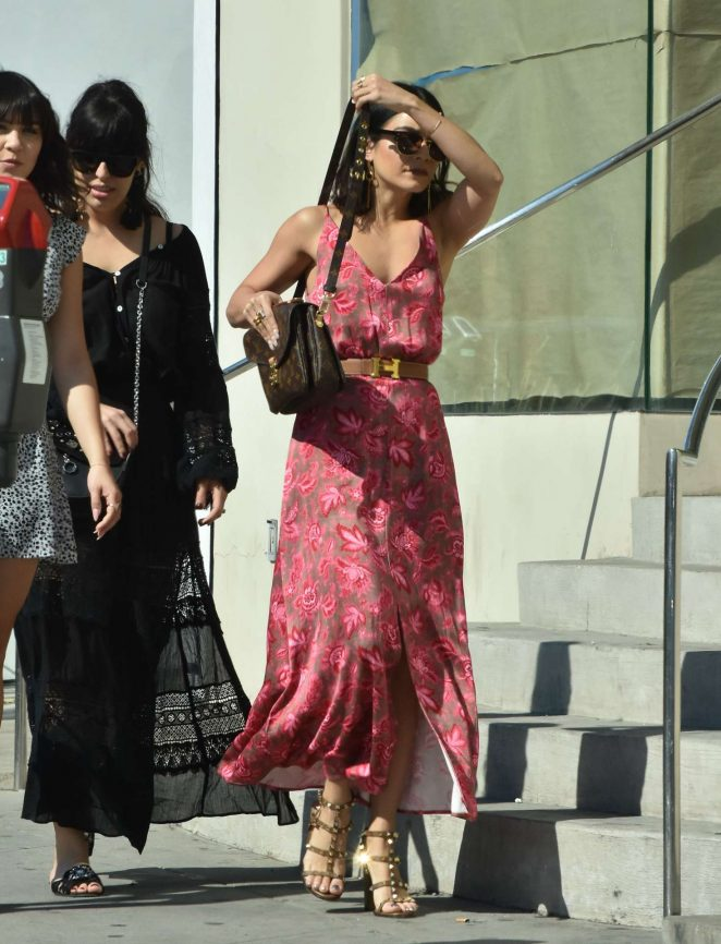vanessa hudgens in summer dress 15 gotceleb