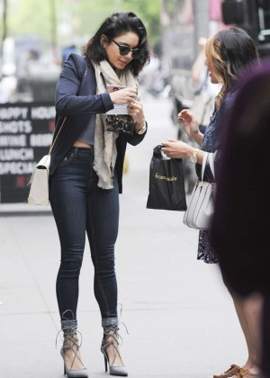 Vanessa Hudgens in Tight Jeans Out and about in NYC