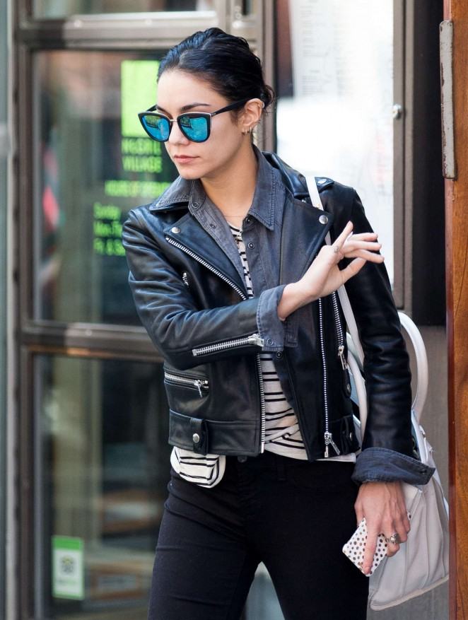 Vanessa Hudgens in Tight Pants out in Soho