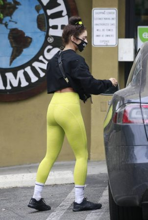 Vanessa Hudgens in Tights out in West Hollywood