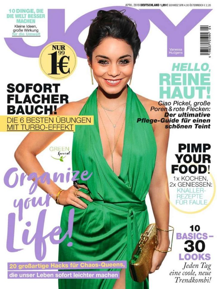 Vanessa Hudgens - Joy Magazine Germany Cover (April 2019)