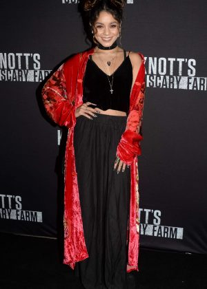 Vanessa Hudgens - Knott's Scary Farm Opening Night in Los Angeles