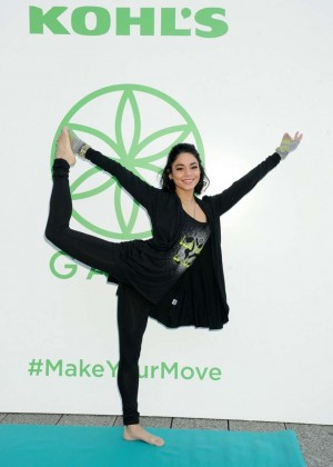 Vanessa Hudgens - Kohl's Exclusive Gaiam Apparel Launch Event in NYC