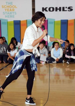 Vanessa Hudgens - Kohl's Free Shoes Giveaway Event in Los Angeles