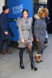 Vanessa Hudgens - Leaving Good Morning America in New York
