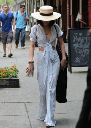 Vanessa Hudgens in Long Skirt -03