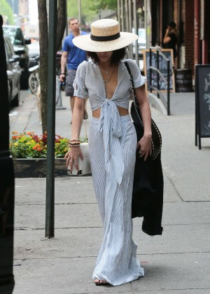 Vanessa Hudgens in Long Skirt -04