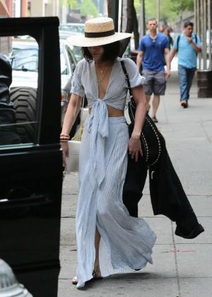 Vanessa Hudgens in Long Skirt -05