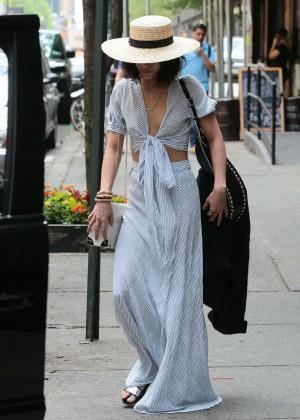 Vanessa Hudgens in Long Skirt -06