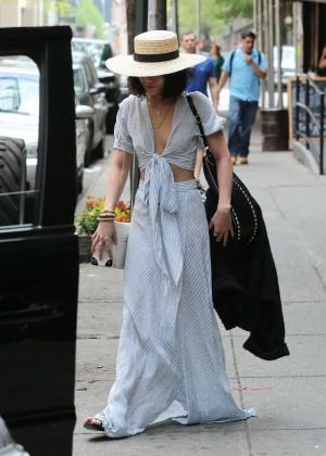 Vanessa Hudgens in Long Skirt -07