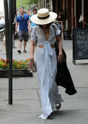 Vanessa Hudgens in Long Skirt -10