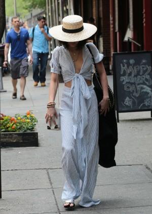 Vanessa Hudgens in Long Skirt -11