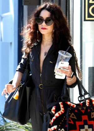 Vanessa Hudgens - Leaving Nine Zero One Salon in West Hollywood