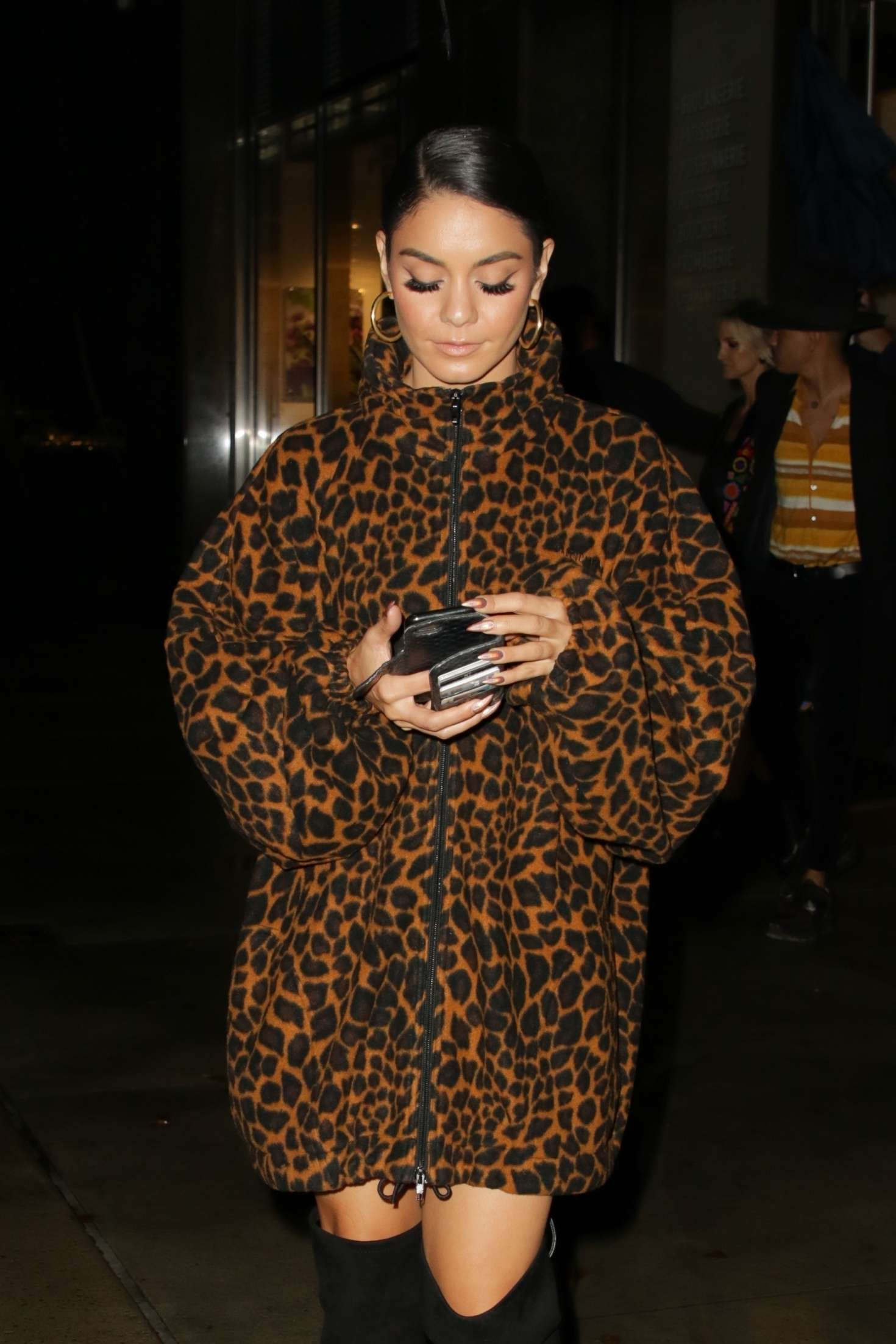 Vanessa Hudgens - Leaving the 'Candy Crush Friends' event in NY