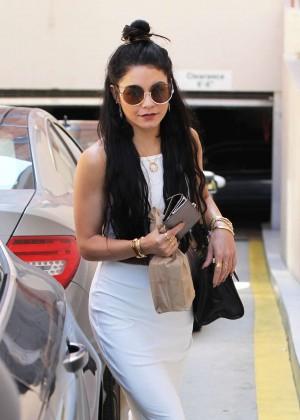 Vanessa Hudgens - Leaving the doctor's office in Beverly Hills